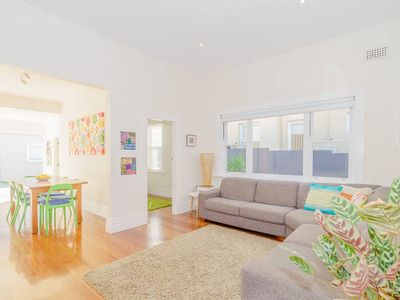 Photo for Bright relaxed Bondi house - Walk to the beach!
