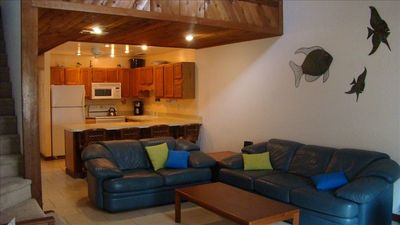 Photo for Townhome steps to beach