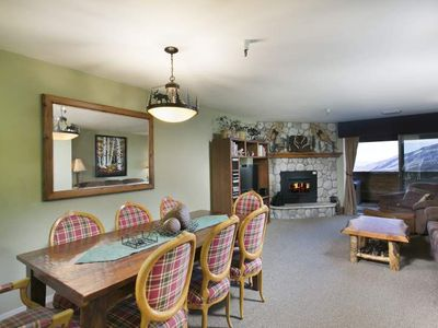 Photo for Pet Friendly Ski In Ski Out with Private Jacuzzi and Great View