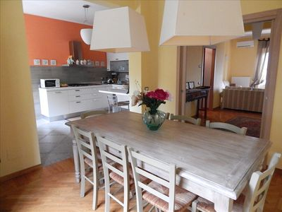 Photo for S34 - Sirolo, four-room apartment in the center tastefully furnished