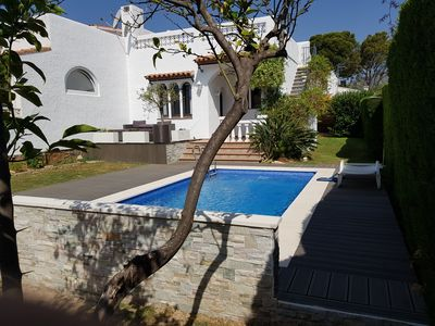 Photo for CHARMING SPANISH VILLA MIAMI PLAYA with Private Pool