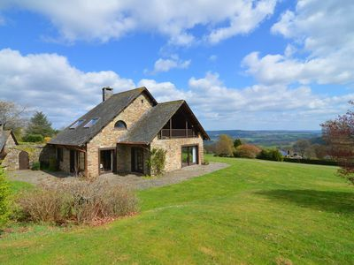 Photo for Villa with 5 bedrooms and 4 bathrooms with a beautiful view on the Ardennes