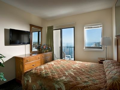 Photo for Angle Ocean View 2 Bedroom Condo + Official On-Site Rental Privileges