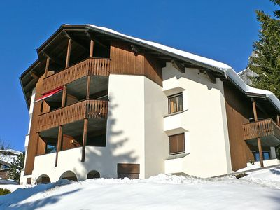 Photo for Apartment 96 m from the center of Flims with Parking, Internet, Washing machine, Balcony (48895)