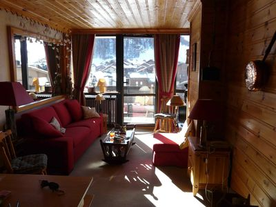 Photo for 2 room apartment + cabin area 40 m² Val d'Isère only from 9/02 to 17/03