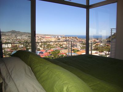 Photo for MODERN LUXURY CONDO  Flr-to-Ceiling Glass  PEDREGAL GATED COMMUNITY - new furnit