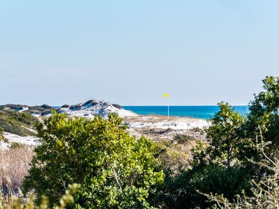 Photo for Executive Access Home! Views of Gulf & Coastal Dune Lakes. Golf Cart Included