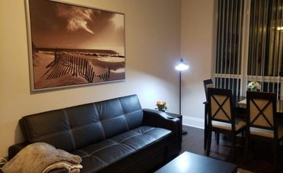 Photo for 1 Bedroom + Den Furnished Condominium in Aristo and Avonshire