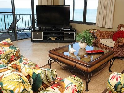 Photo for Beachfront 2BR/2BA All New Inside   1441sq Ft Great View