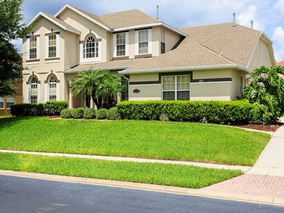 Mickey Magical Villa, 7 bed/6 full bath, Huge Pool and Lanai, Over 1/3 Acre Lot