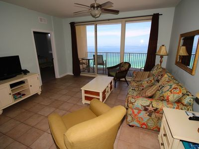 Photo for Beautiful Gulf Front Shores of Panama 2BR, Sleeps 8, Fall Specials!