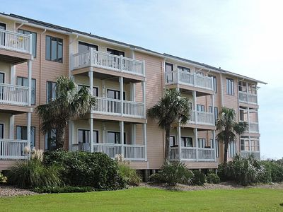 Photo for Oceanfront Top Level 3 Bedroom 2 Bath Condo in Emerald Isle