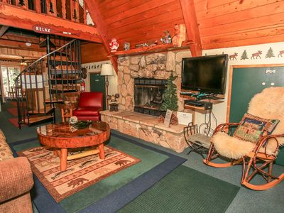 Photo for ~Mason's Mountain Retreat~Fresh A-Frame Chalet With Hot Tub~Great Central Location~