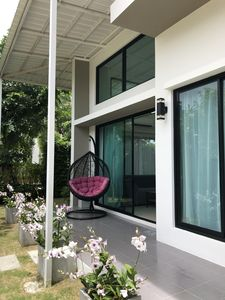 Photo for Newly constructed luxury modern villa near mile-long beach in Rayong / Mae Rumphung