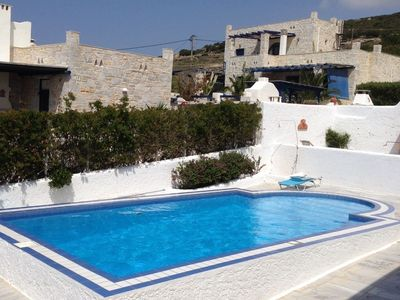 Photo for Seaview Villa with Private Pool, Minutes from Pounta Port.