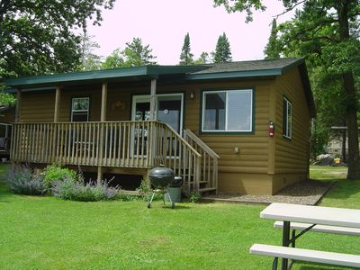Photo for Up North Family Resort on Beautiful Five Point Lake - Wolf Cabin