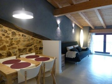 Rural apartment Arrieta Haundi for 17 people