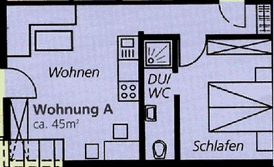 Photo for Apartment A 42qm, 1 bedroom, 1 living / bedroom - Vacation House Rombach