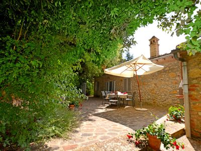 Photo for Vacation home La Ginestra in Gambassi Terme - 6 persons, 3 bedrooms