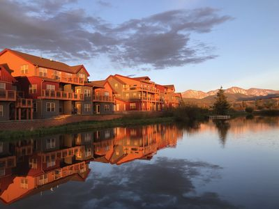 Photo for Waterfront Mountain Getaway near Winter Park: Awesome Views and Location: