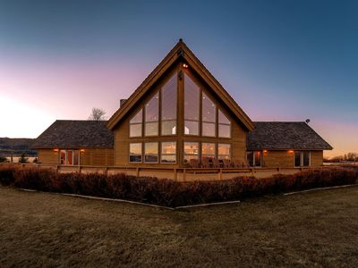 Photo for Log Dream Home, Views of Teton Mountains, Stunning & Spacious - NEW!-CANCELLATION SPECIAL