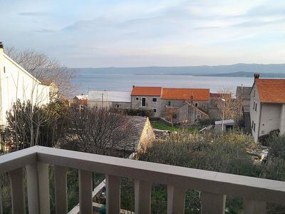 Photo for Two bedroom apartment with terrace and sea view Bol, Brač (A-2900-e)