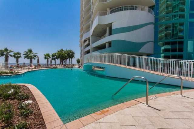 Gulf Front 3 Bedroom Sleeps 10 Balcony Hot Tub Turquoise Place 2504c Orange Beach