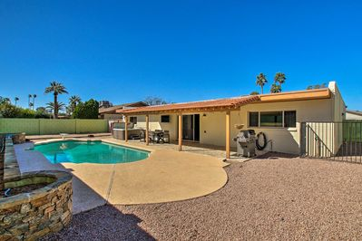 Escape to Scottsdale & let all your worries wash away at this spectacular home.