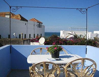 Photo for newly renovated charming house in the medina, beautiful sea view