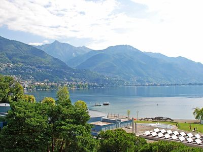Photo for Apartment in the center of Locarno with Lift, Garden, Terrace (46683)