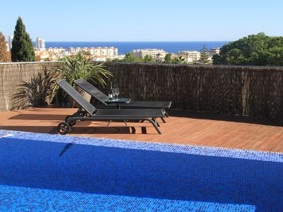 Photo for Villa with high free location and private pool, wifi and close to attractions