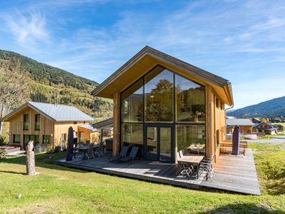 Photo for Detached, luxury chalet with panoramic view, wellness area, and jacuzzi , near the ski lift