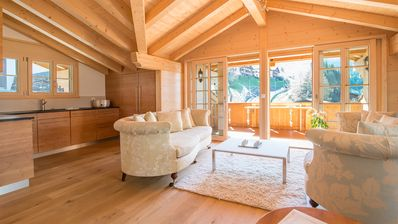 Photo for 5 Star Penthouse Apartment In Central Wengen