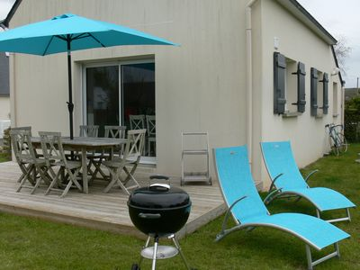 Photo for HOUSE LOCTUDY Bigouden, 3 bedrooms, beach 600m, South Expo. Bikes.