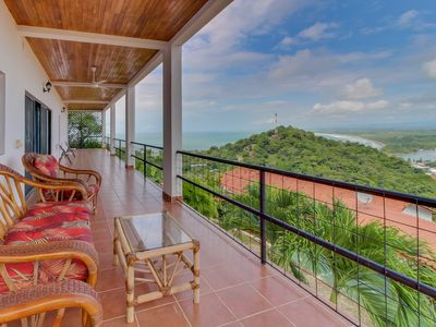 Photo for Inviting Costa Rican Studio w/private pool, ocean & valley views -near the beach