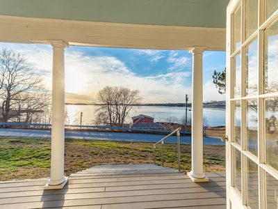 Photo for Renovated Classic Maine Cottage Overlooking Casco Bay
