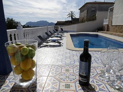 Photo for 8 Bedroom House With 19th Century Cave House, private pool, BBQ, sleeps 14,