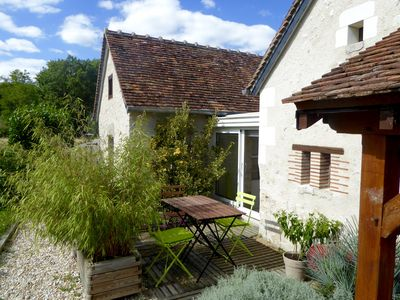 Photo for Stylih Stone Cottage in the Heart of the Grand Chateau Area of the Loire Valley