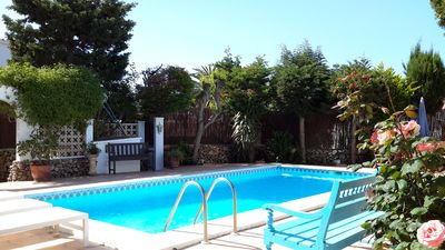 Photo for Lovely house, 8x4 swimming pool in unspoilt village, 15 minutes from Mahon and beaches