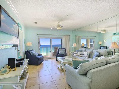 Photo for Emerald Dunes 503 - Gulf Front! Free Beach Service! Community Pool and Hot Tub!