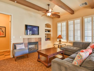 Photo for Best Views at Legacy! Mountains, Palm Trees and Blue Skies - Upstairs with Garage (L56)