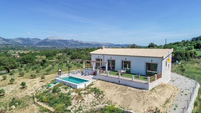 Photo for Son Catlar - Modern holiday home at the foot of the Puig de Santa Magdalena