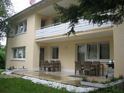 Photo for Villa with 3 apartments for 8 - 18 people in Munich Fasanerie with 3 lakes