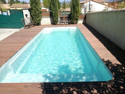 Photo for La Commanderie in Mormoiron - Cottage with pool- max. 11 pers.