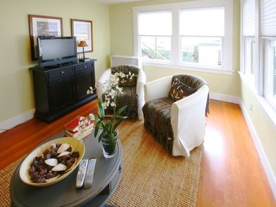 Photo for Rockridge Bungalow Outfitted W/Style - Steps to College Ave!