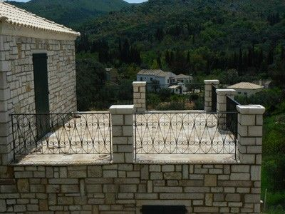 Photo for Traditional stone villa in 'Loutses' with nice panoramic view