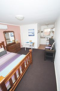 Photo for Quiet and comfortable studio in St Kilda close to all, WIFI, bikes, Netflix