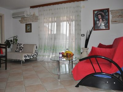 Photo for Apartment 122 m from the center of Murine with Pool, Air conditioning, Parking, Garden (576402)