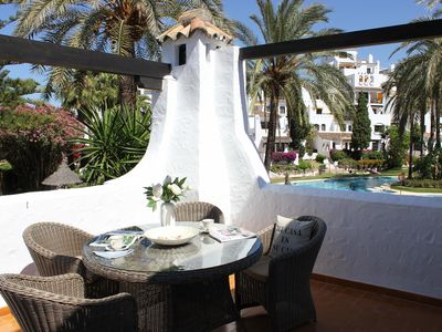 Photo for Luxury 2 Bed Apartment in Aldea Blanca, near beaches and local ameneties