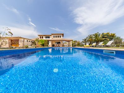Photo for Country holiday home in between Pollença and Puerto Pollensa